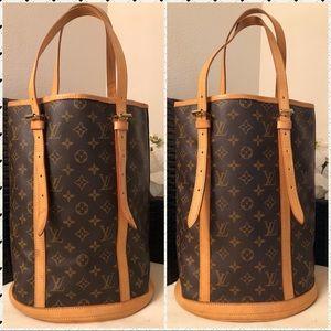 Authentic Louis Vuitton Bucket GM